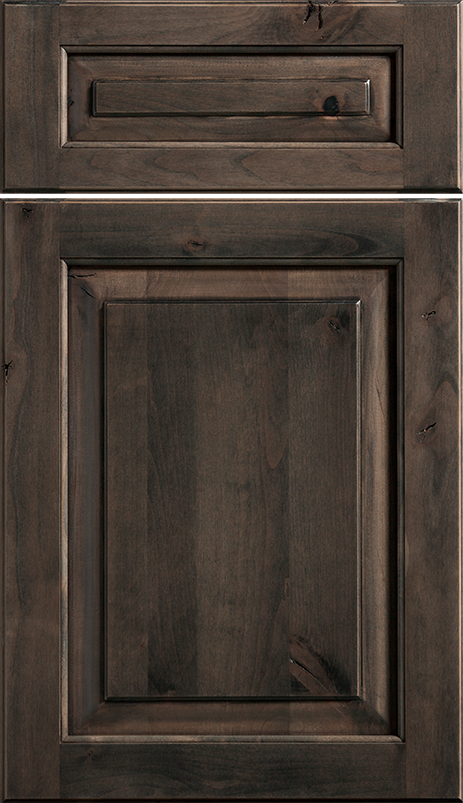 92 Knotty Alder Grey Stain Lowes Schuler Cabinetry Knotty Alder